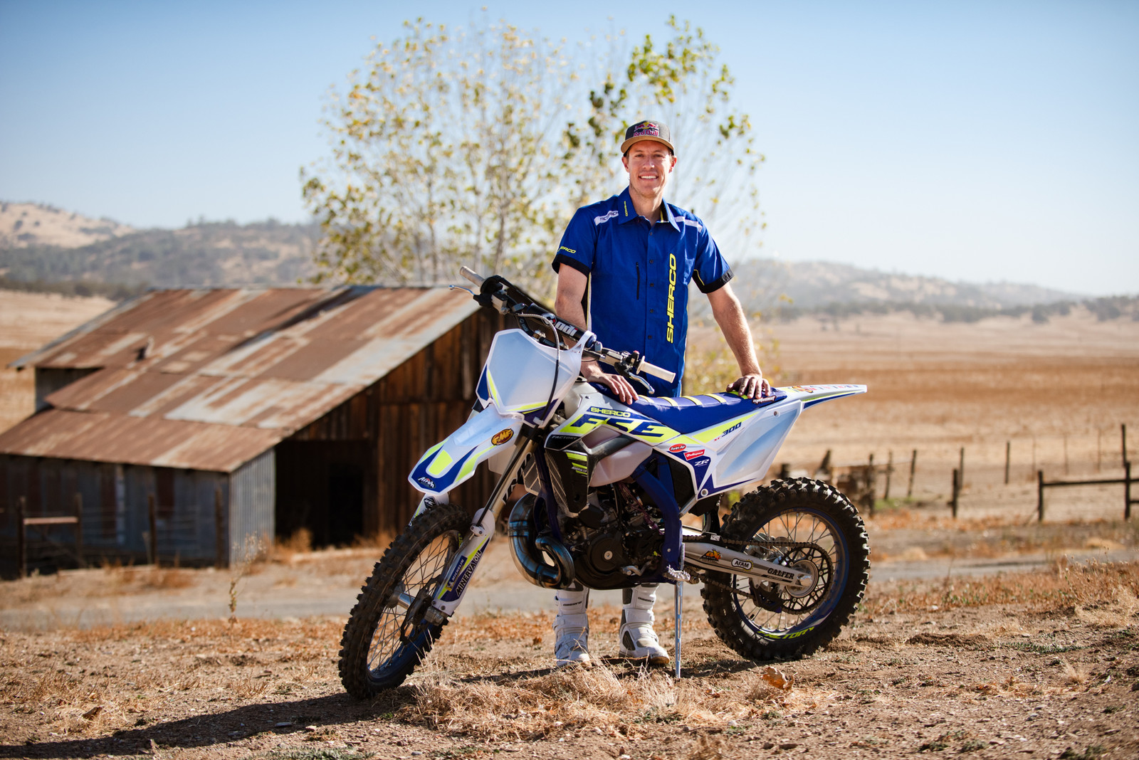 Cody Webb and his Sherco 300 SC Factory