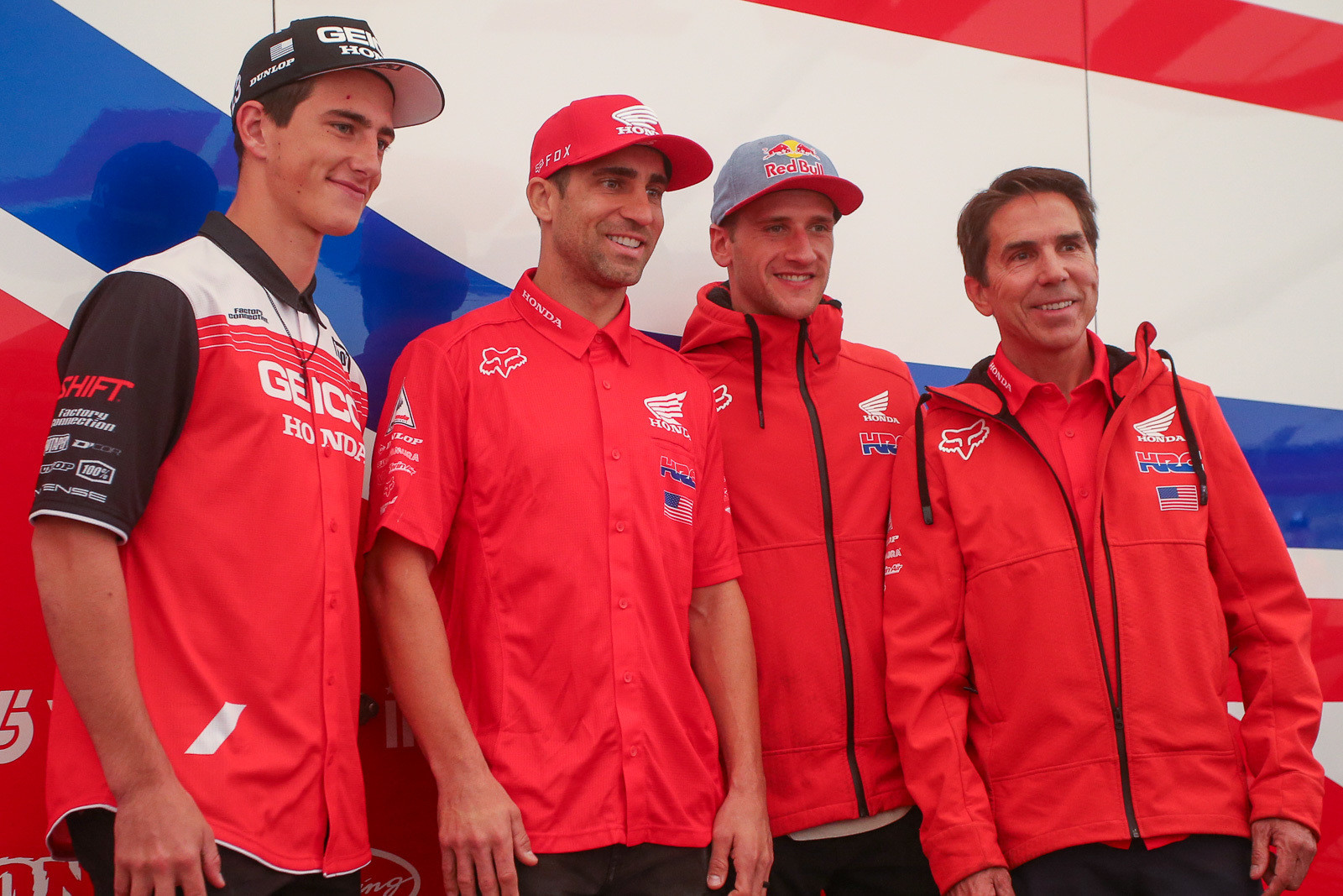 Team Honda HRC got creative with their roster for 2020. Justin Brayton (fresh from wrapping up his fourth Australian Supercross title) will join Ken Roczen for the Supercross season. Chase Sexton gets one more Supercross season with GEICO Honda, and will likely ride some 450 races opposite whichever coast he ends up racing. He'll then move over to the Team Honda HRC team full-time during the outdoor season.
