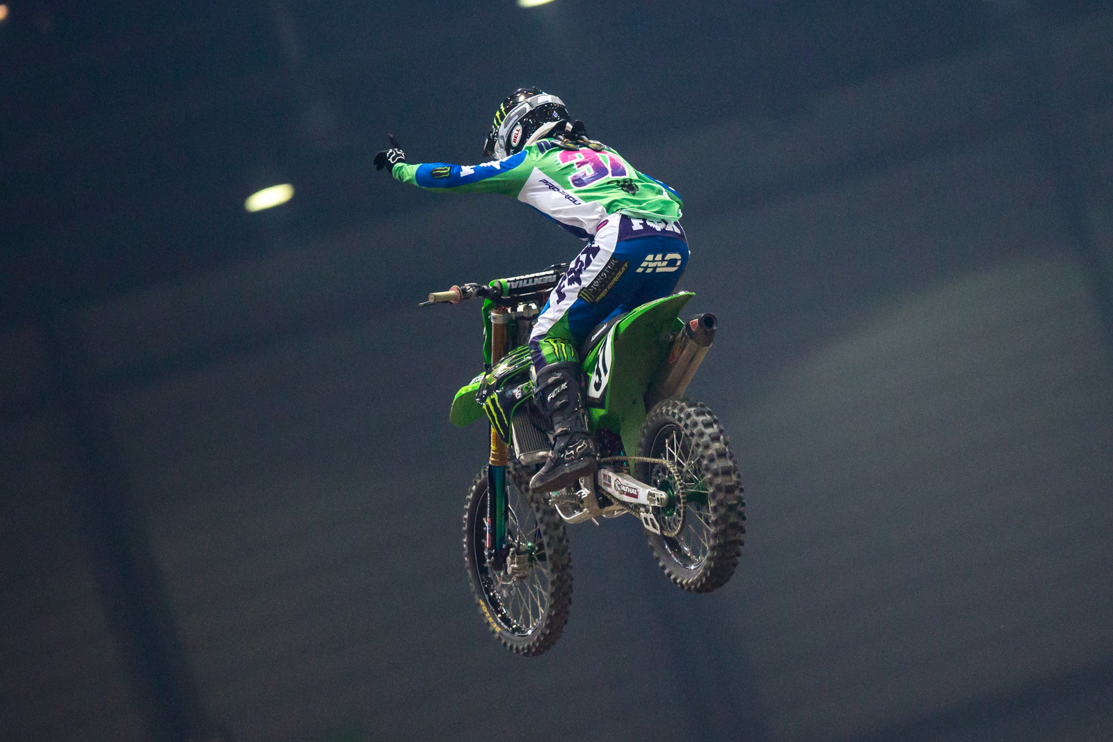 How cool is this?? Martin Davalos wins Night One in Geneva.
