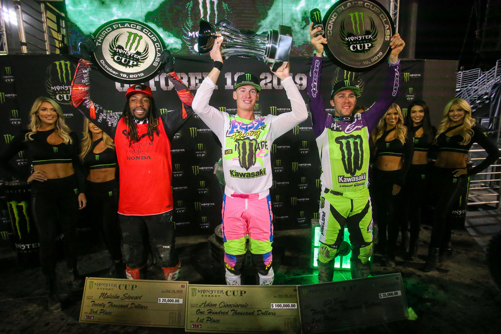 We're expecting to see quite a few riders vying for podium spots this year.