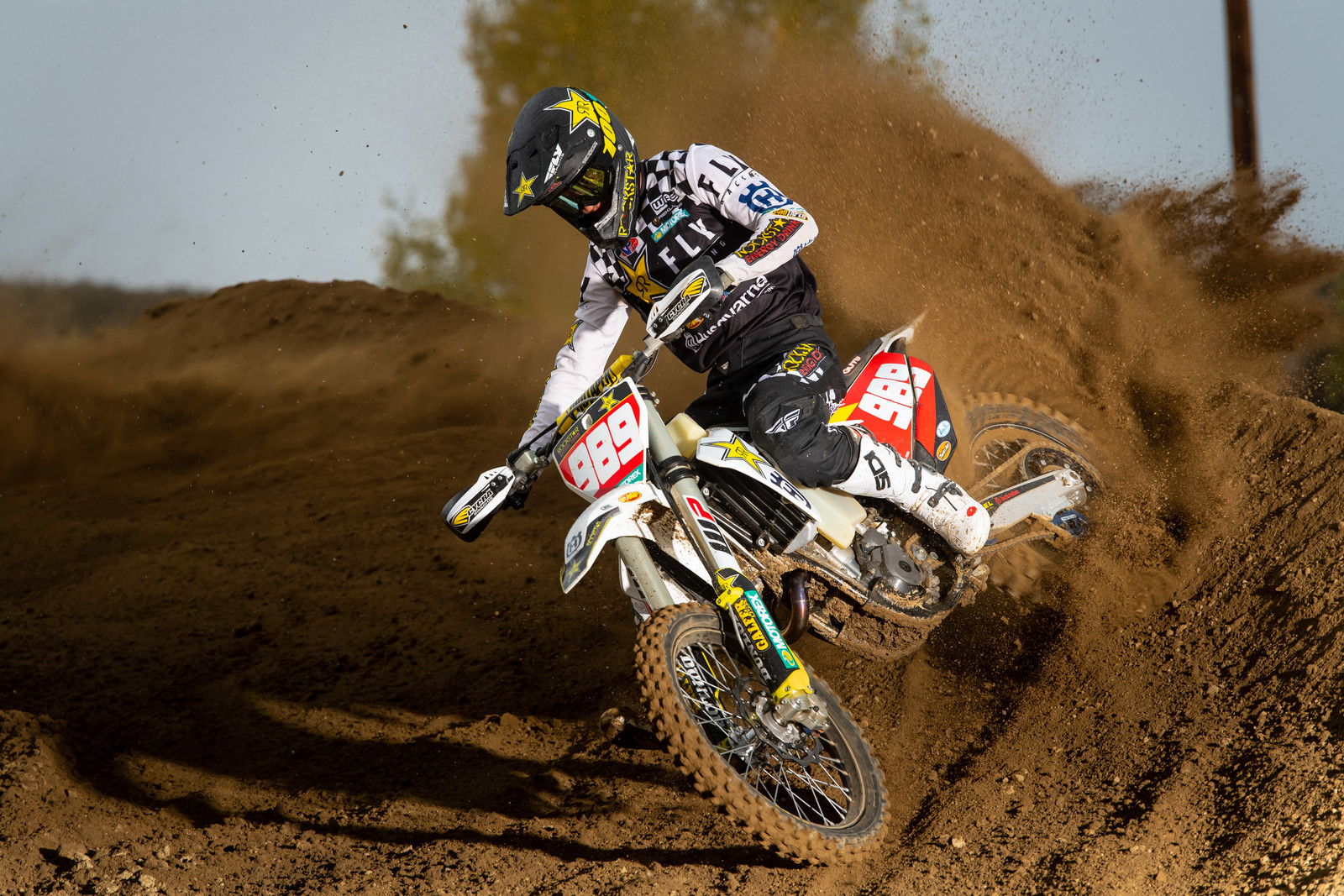 Thad Duvall on the FX 350
