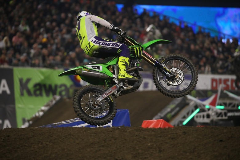The hype around Adam Cianciarulo's move to the 450 class is looking very real at the moment.