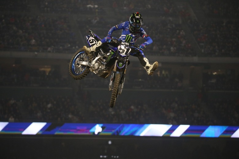 Justin Barcia could not be stopped tonight.