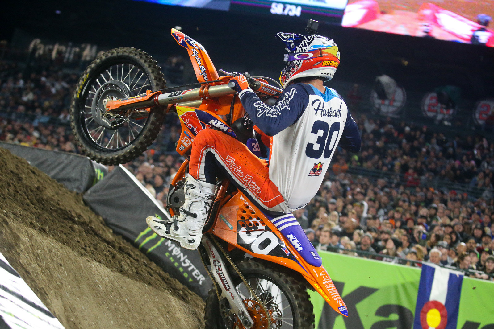 On the 250 side, Brandon Hartranft was the big mover, jumping up six spots.