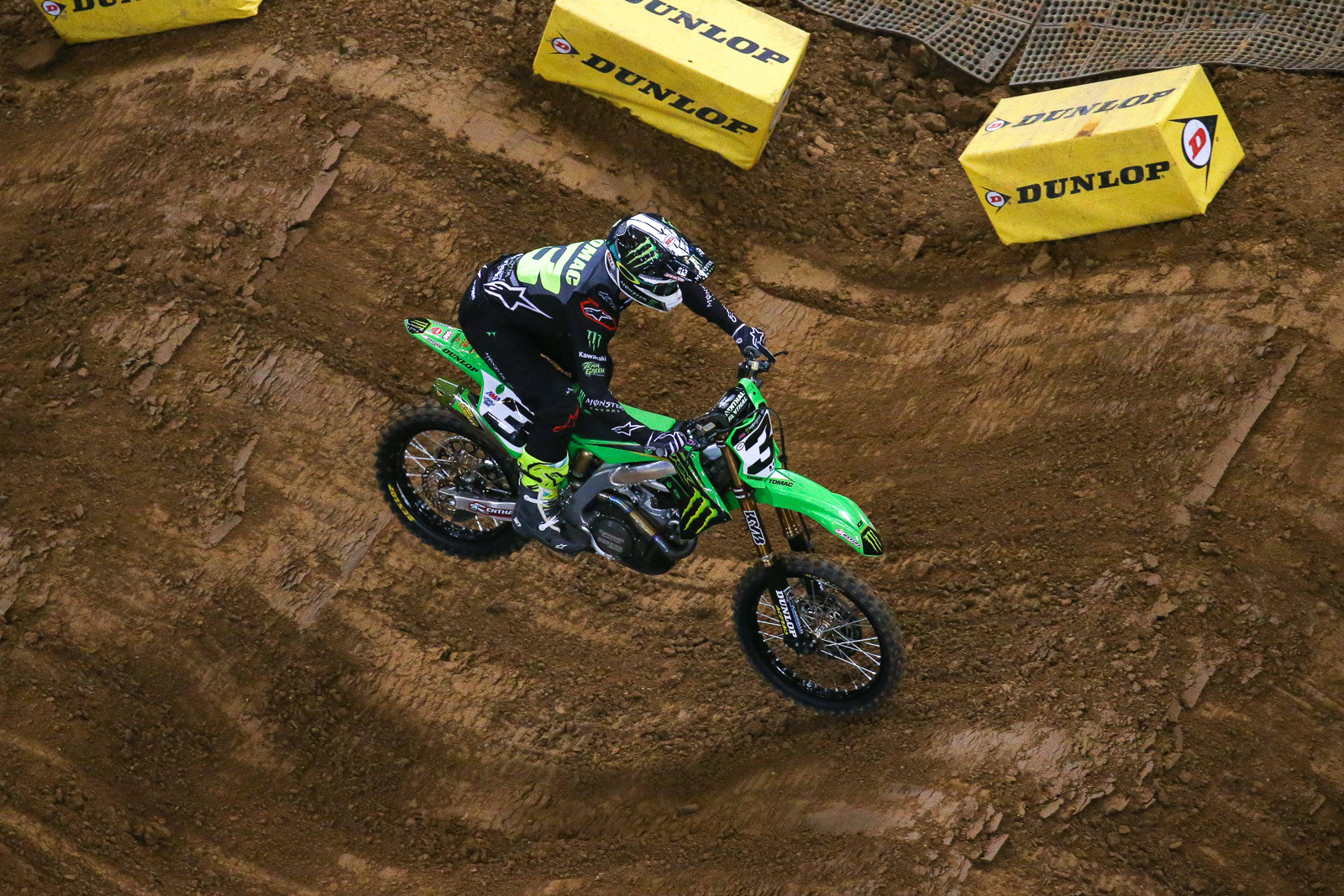 Eli Tomac was the big mover in the 450 main, jumping up eight spots.