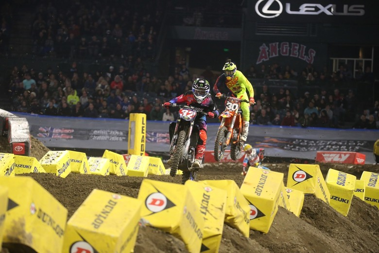 Justin Cooper was a little off of his usual pace today, but he was able to salvage a second in a hectic Main Event.