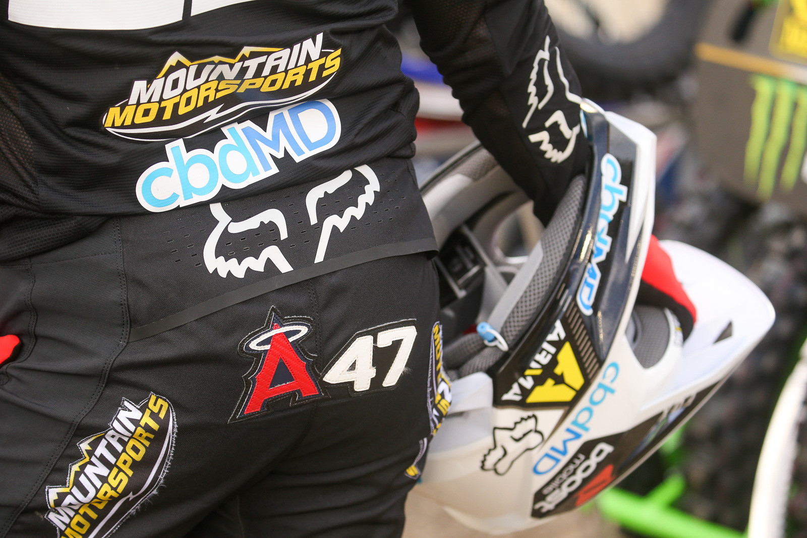 A1 or A2? No way. This is the 47th Anaheim race of Chad Reed's career.
