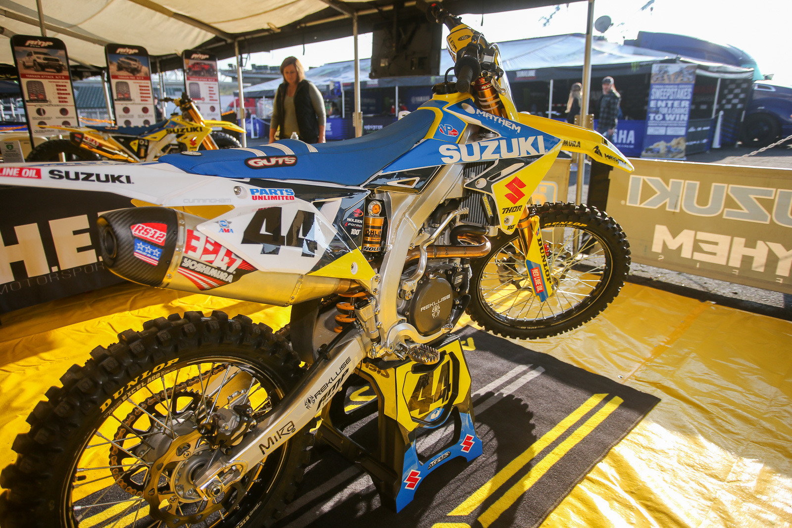 This race is home turf for the H.E.P. Suzuki team.