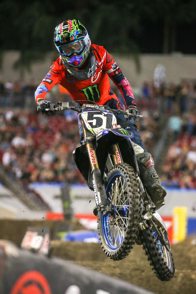Justin Barcia (above), and Zach Osborne (below), but made up ten spots between the end of the first lap and the finish. Barcia ended up fourth, while Zach was 11th.