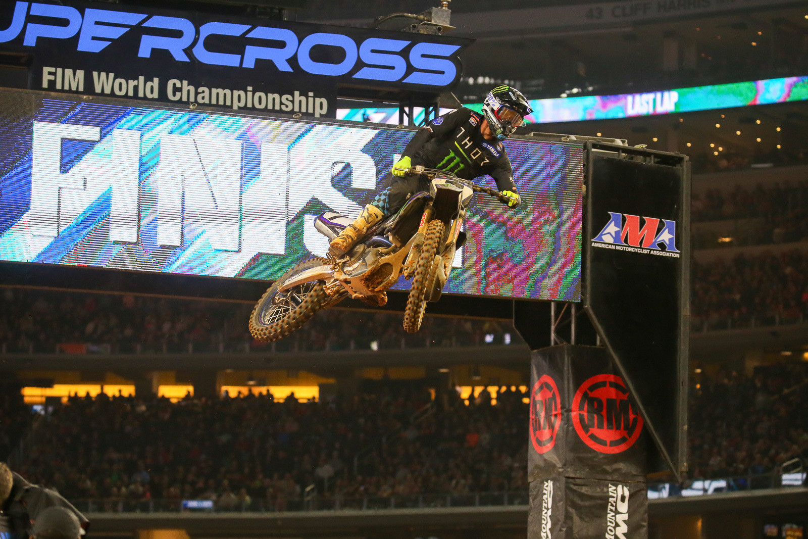 Aaron Plessinger had a whopping +17 for the three mains.