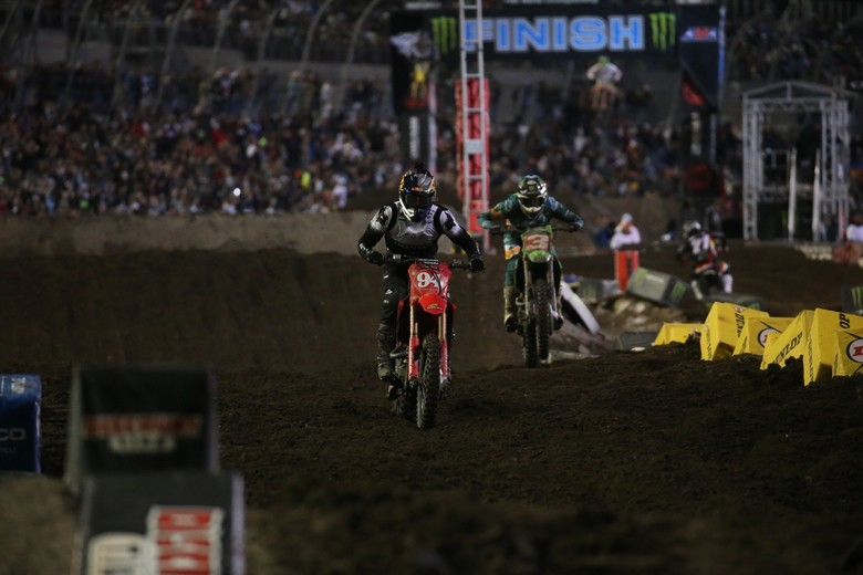 Ken Roczen gave it everything he had, but there was no stopping Eli Tomac.
