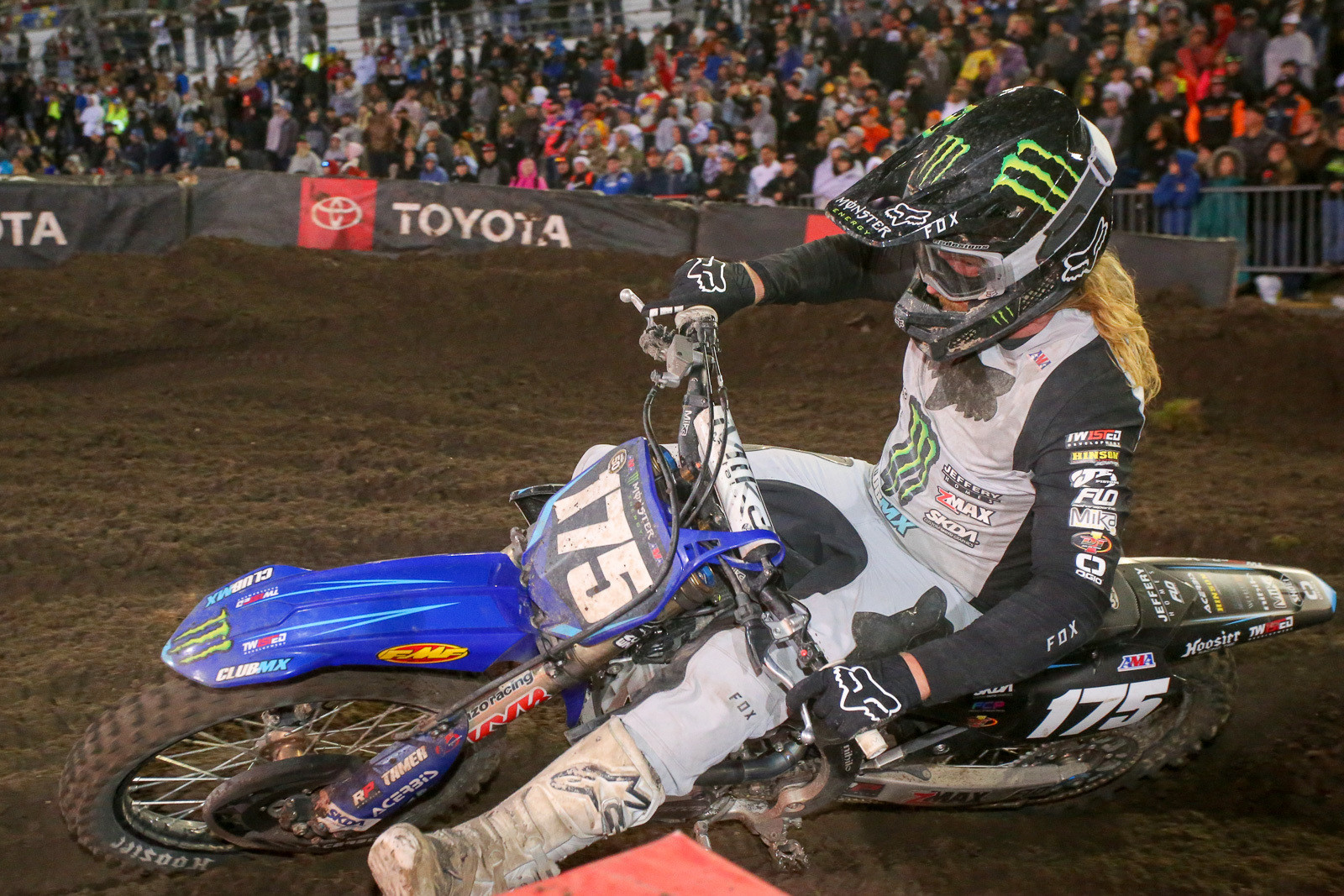 Josh Hill. The fist pump for Garrett Marchbanks as he went by during the main was a nice touch.