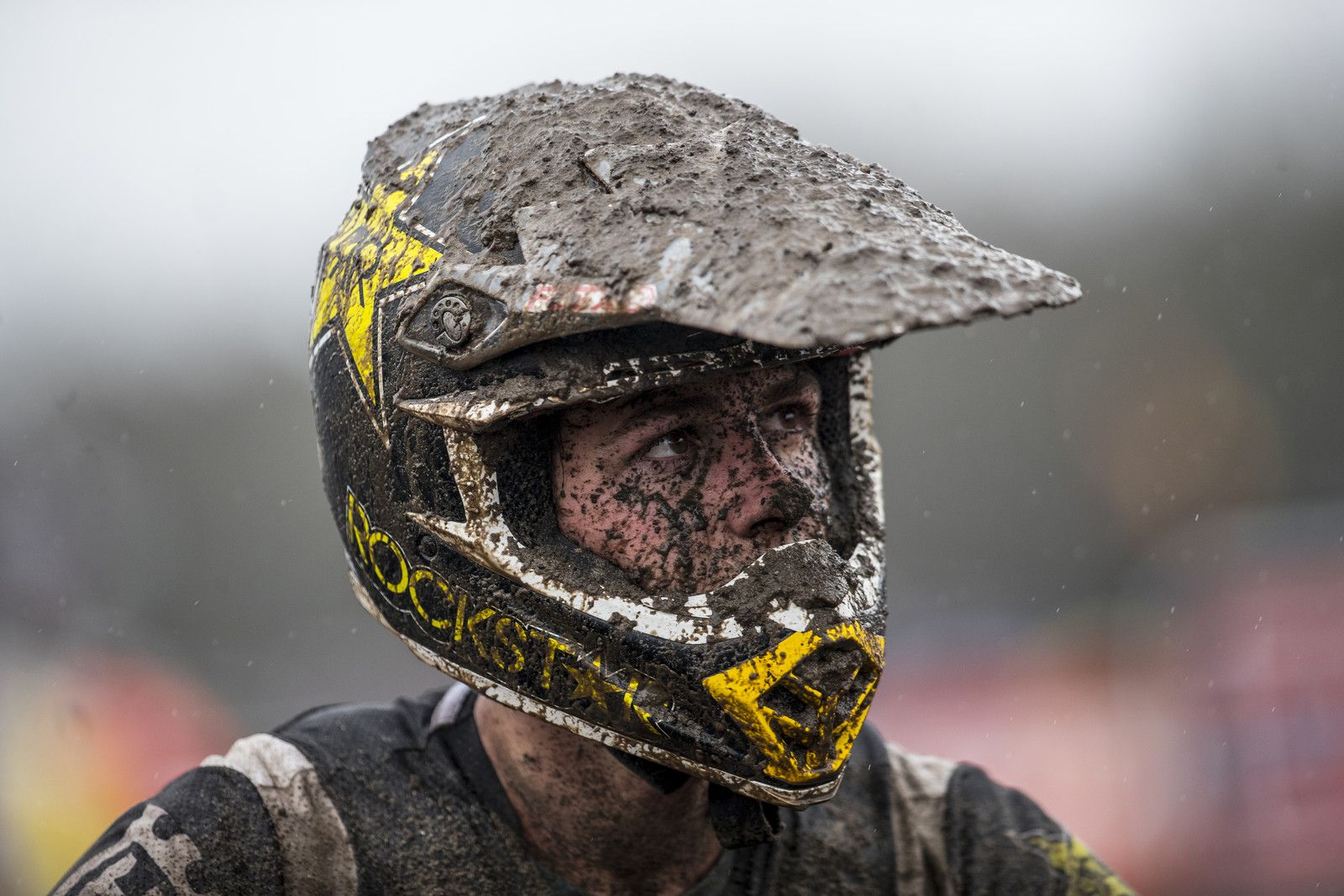 This pretty much sums up the racing at Valkenswaard... Can you say mudfest?