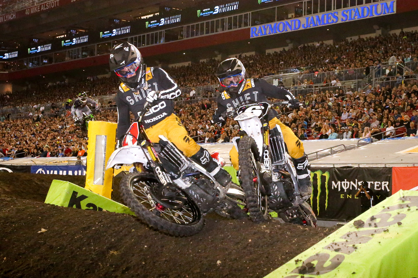 Chase Sexton and Jeremy Martin.