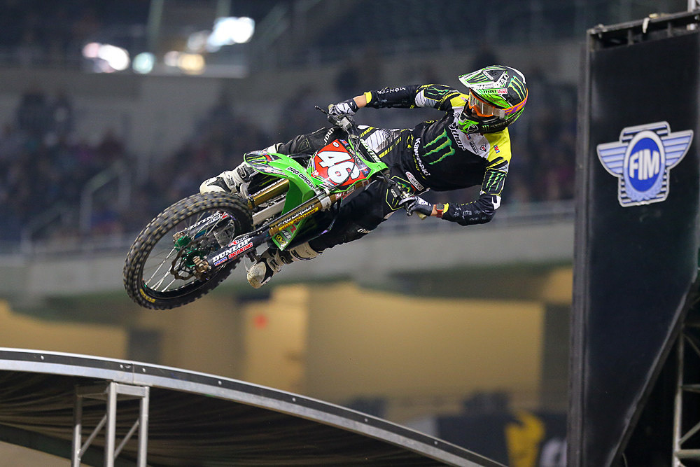 '14 was the rookie year for Adam Cianciarulo.