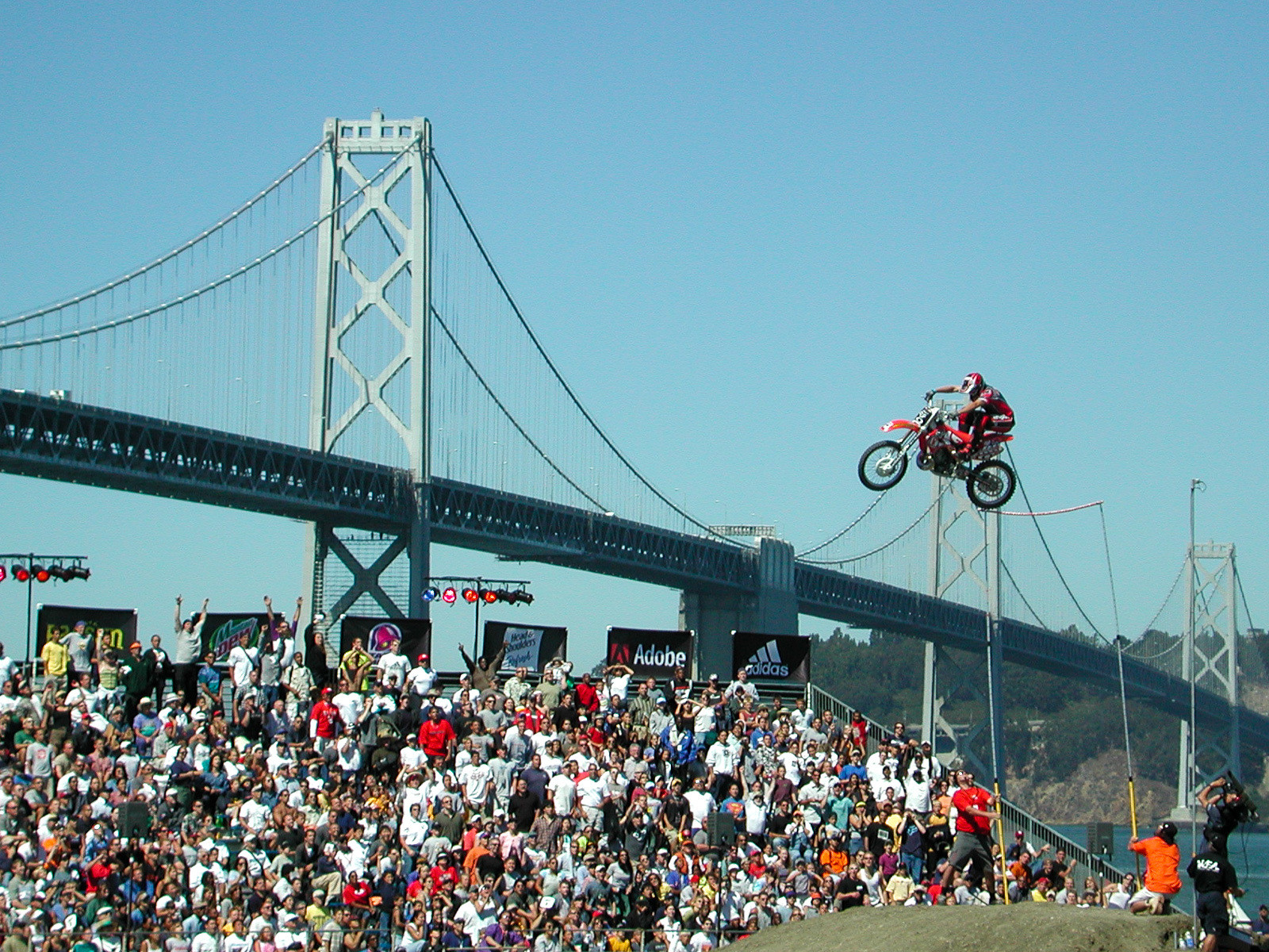 Man, San Francisco was such a cool venue for the X Games.