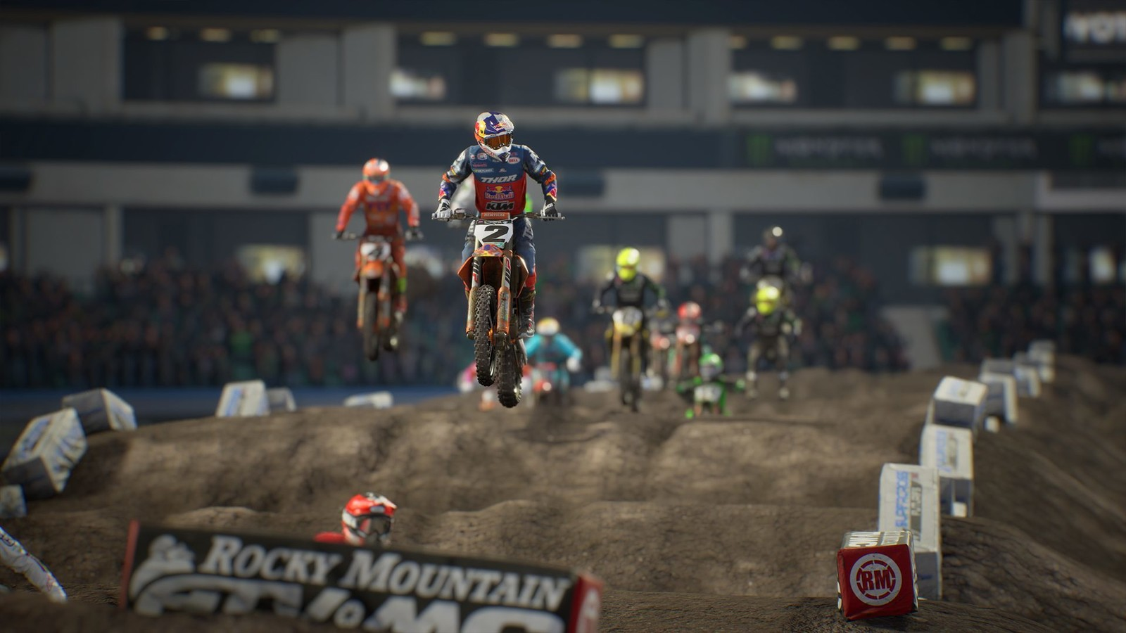 Photo courtesy of Supercross 3 the game.