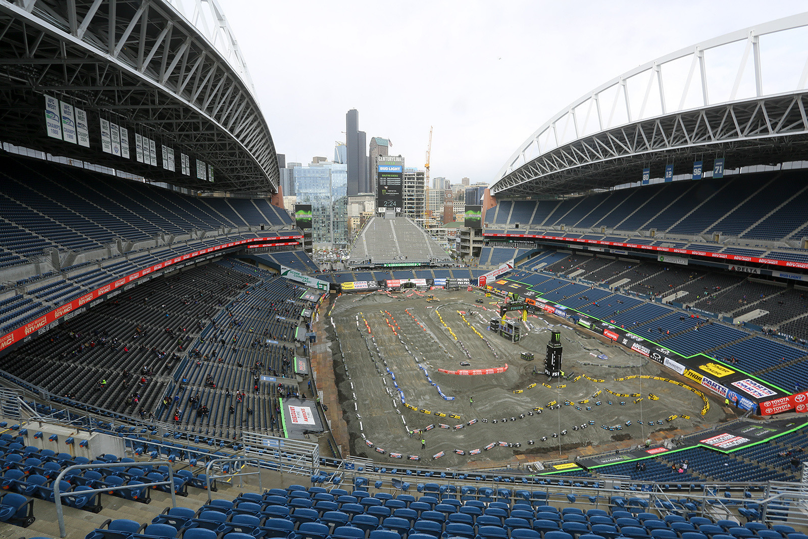 Supercross seats might be empty but Motocross doesn't want to run without fans.