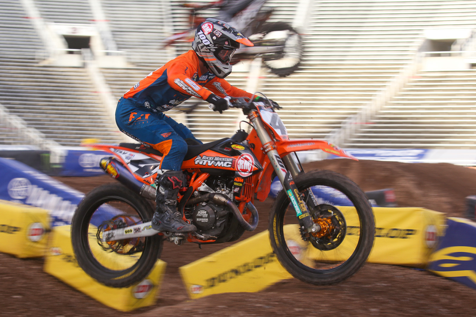 Blake got the biggest boost forward in the 450 main, picking up eight spots on his way to seventh.
