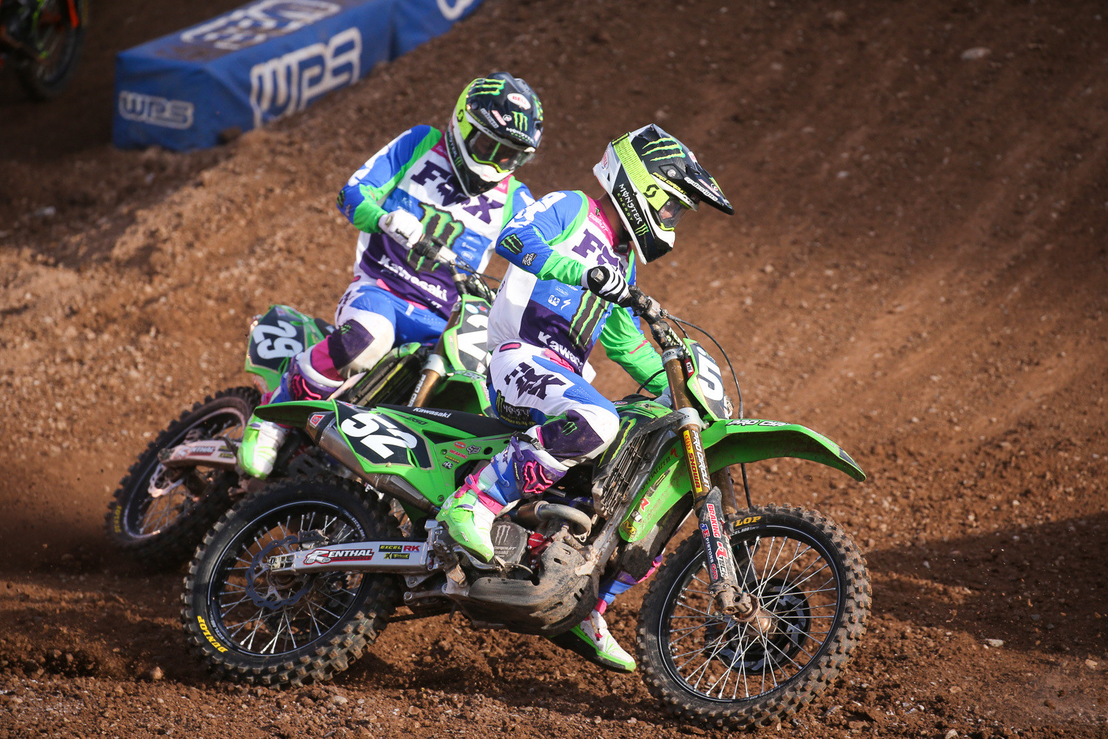 Austin Forkner (with Cameron McAdoo not far behind).