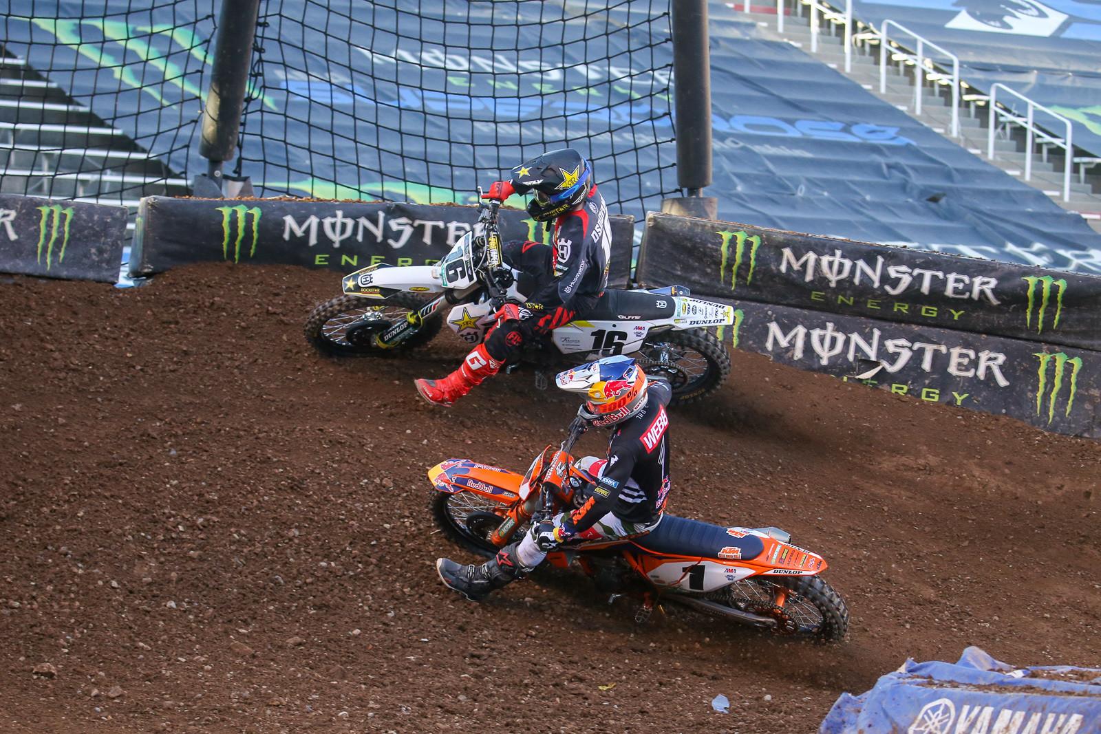 Zach Osborne and Cooper Webb.