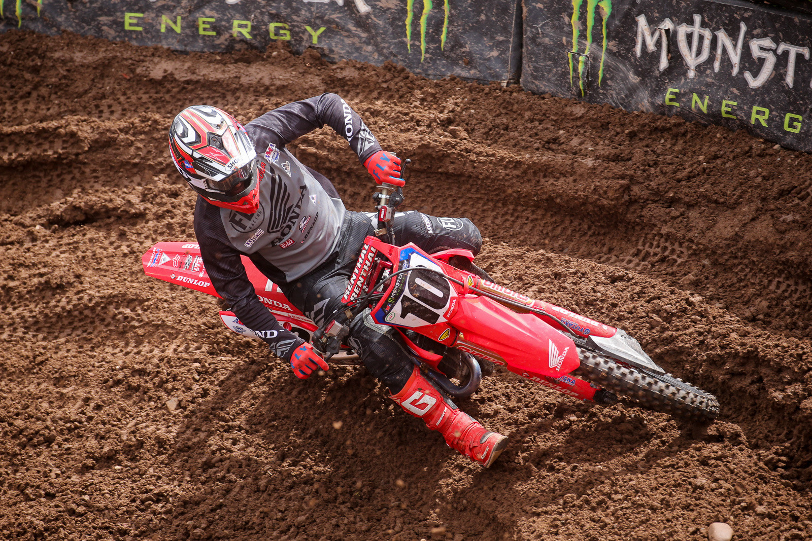 Justin Brayton's +9 nabbed him the top spot in the plus column. He had a lot of opportunity for passing after getting caught in a first turn crash.