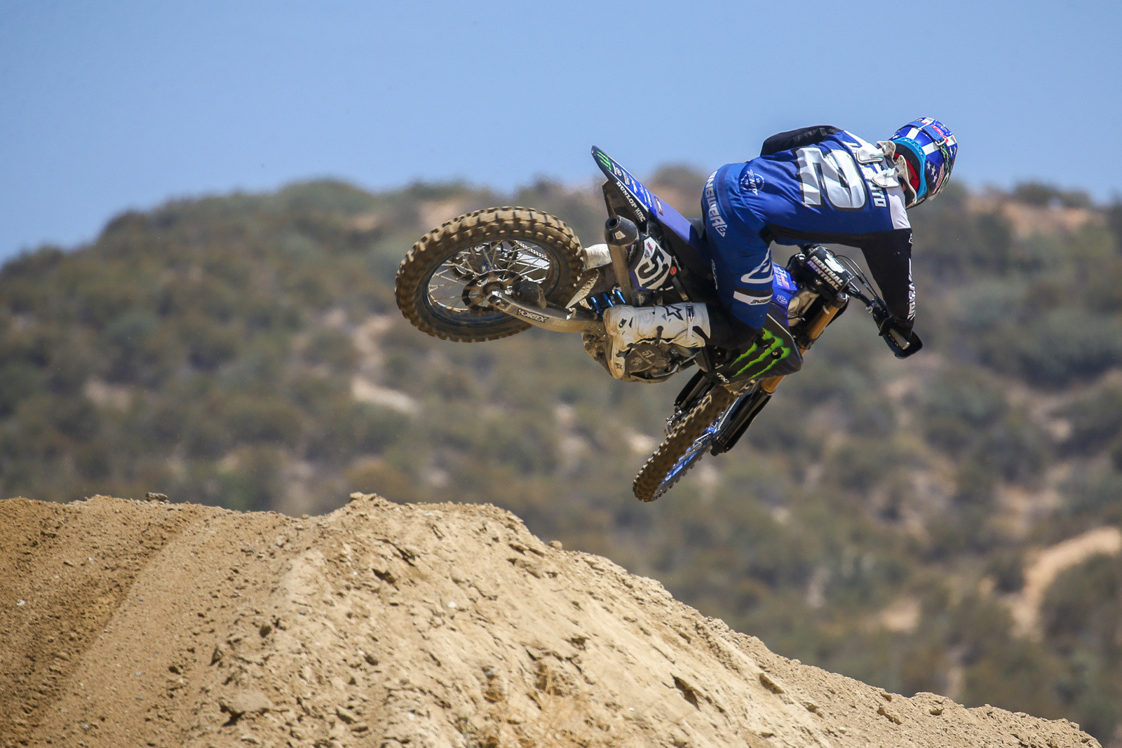 Ryan Villopoto was on hand, riding both Justin and Aaron's bikes, plus a third bike