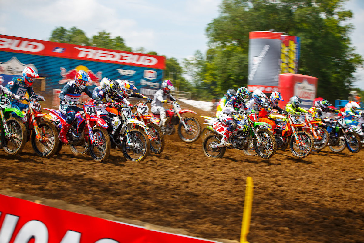 """RedBud MX will host the first ever """"doubleheader"""" in Pro Motocross history over the Labor Day holiday."""