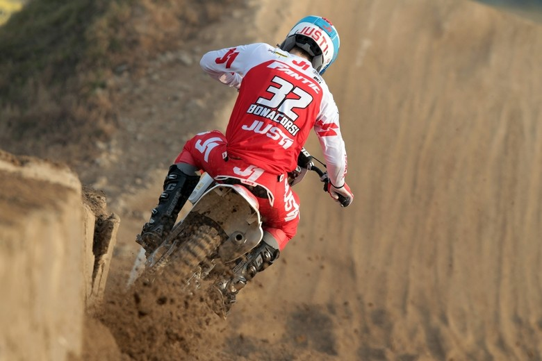 Andrea Bonacorsi racing the XX 125 in Italy