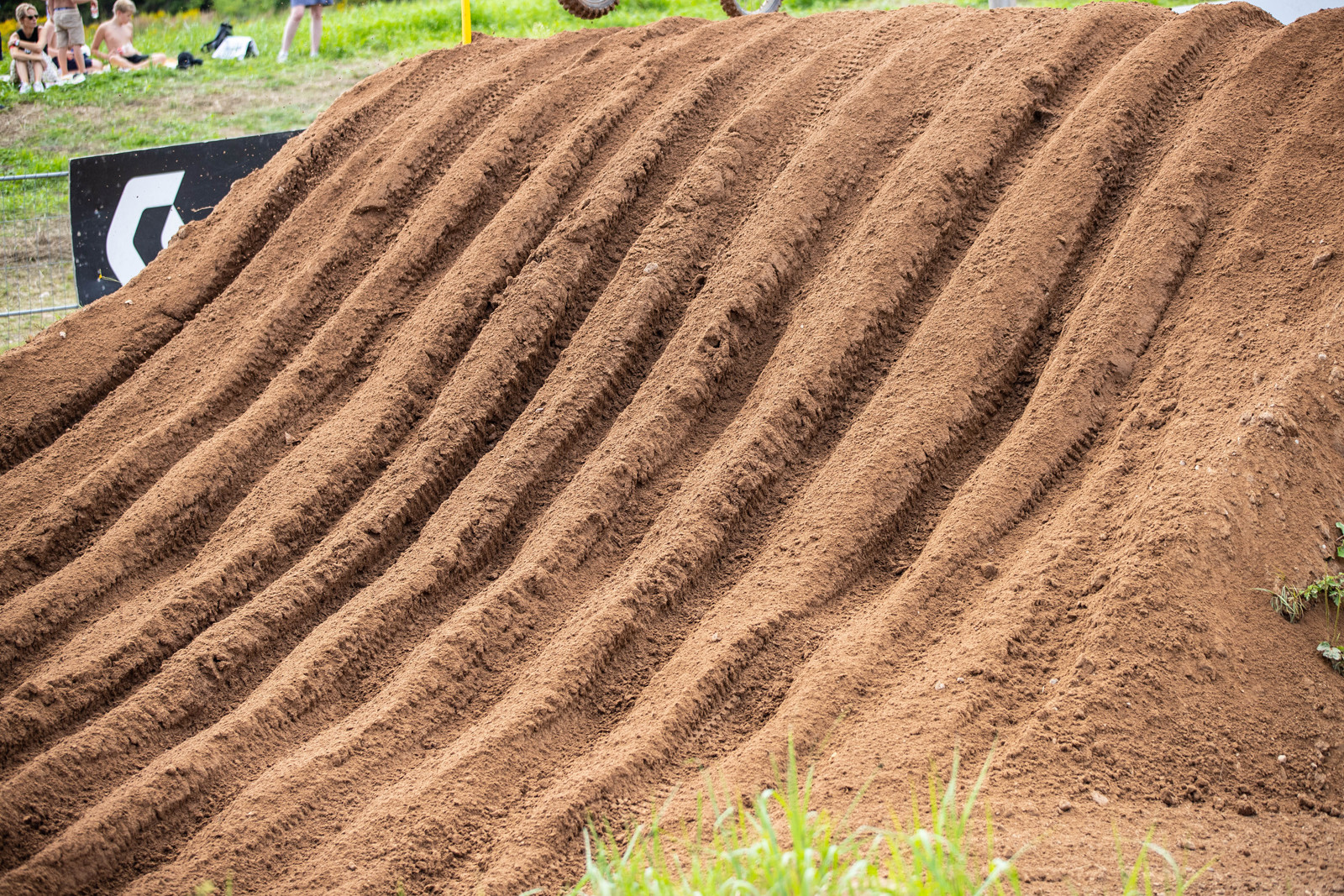 The Latvian track got super rough and super rutted. If you haven't yet, check out the highlights video. Definitely worth a watch.