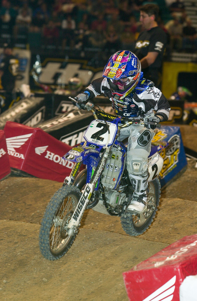We've got Ryan Villopoto in two flavors. When he was still on Yamahas...