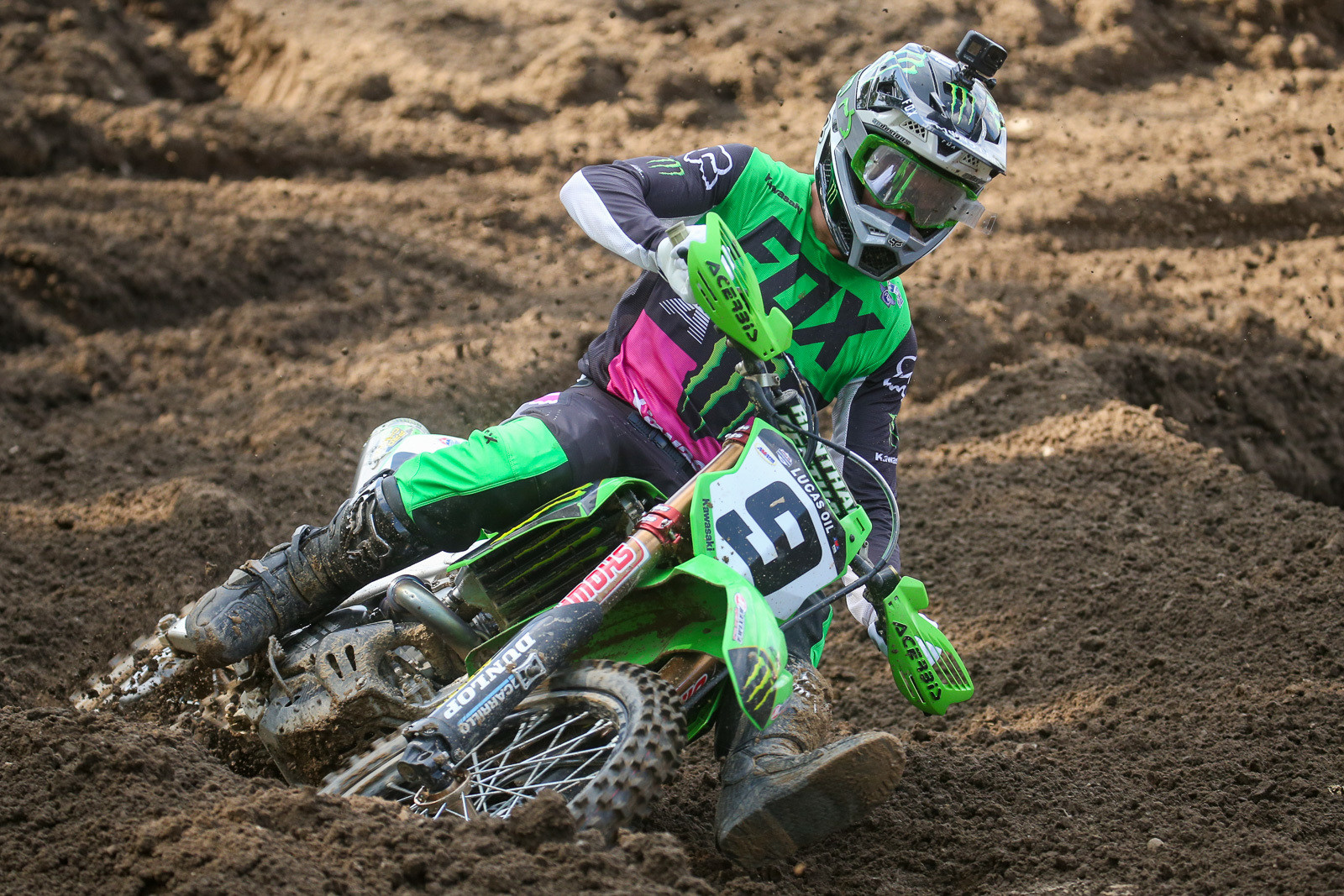 Adam Cianciarulo had a mixed bag to start the season, with a sixth in moto one; and a great start, but a crash and DNF in moto two.