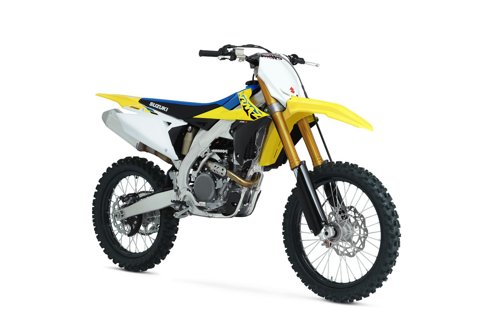 2021 Suzuki RM-Z250: MSRP $7,899