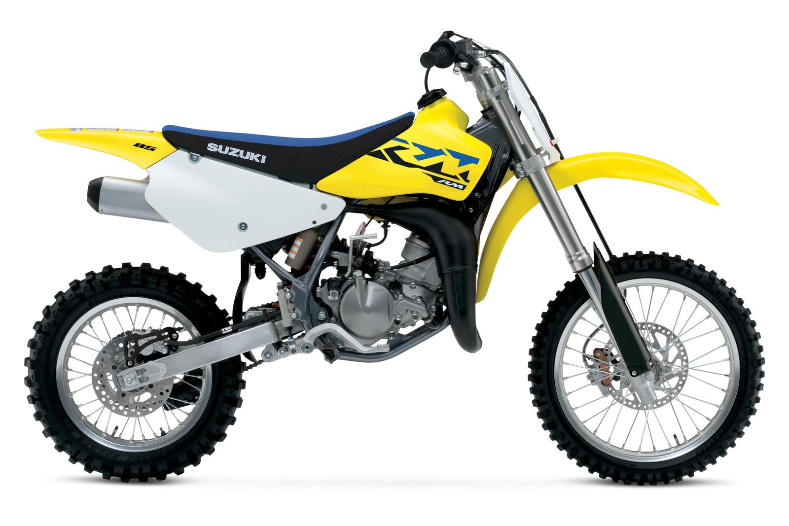 2021 Suzuki RM85: MSRP $4,299