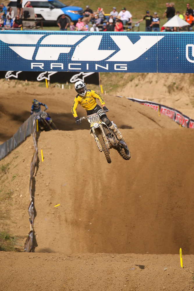 A trio of riders tallied a +18 for positions gained. They included Justin Hoeft (18th overall)...