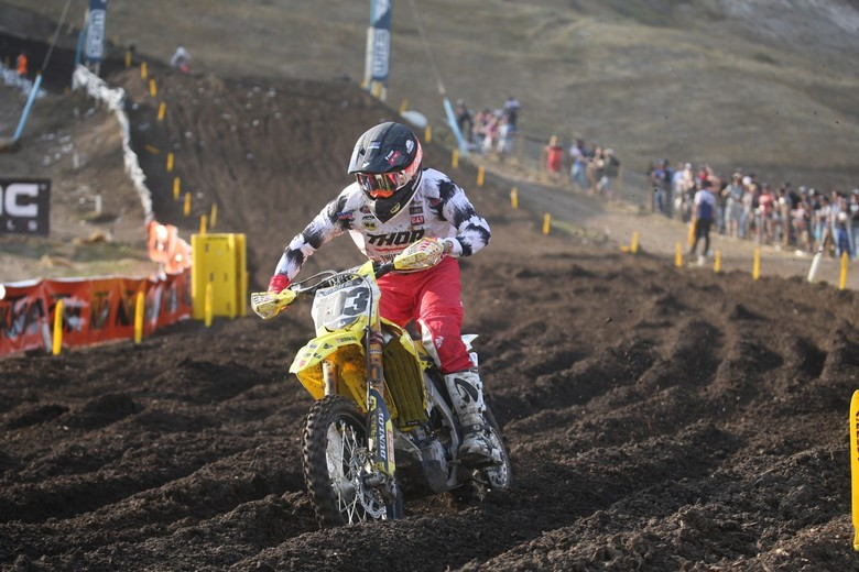 Max Anstie put in a great performance today.