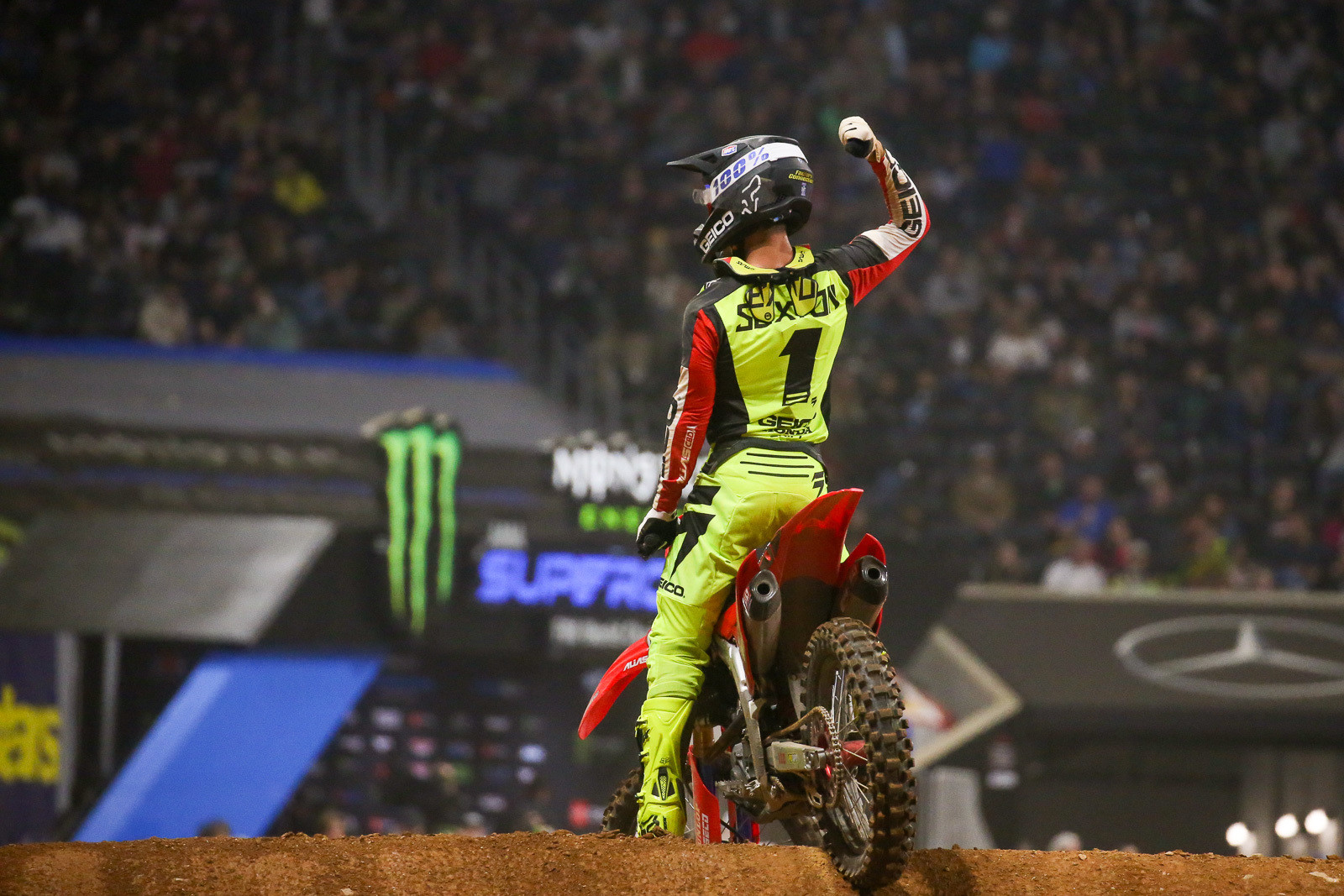 Chase Sexton will make his 450 SX debut in mid-January.