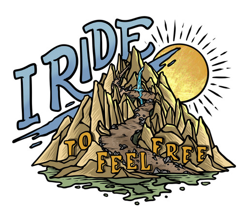 I Ride to Feel Free