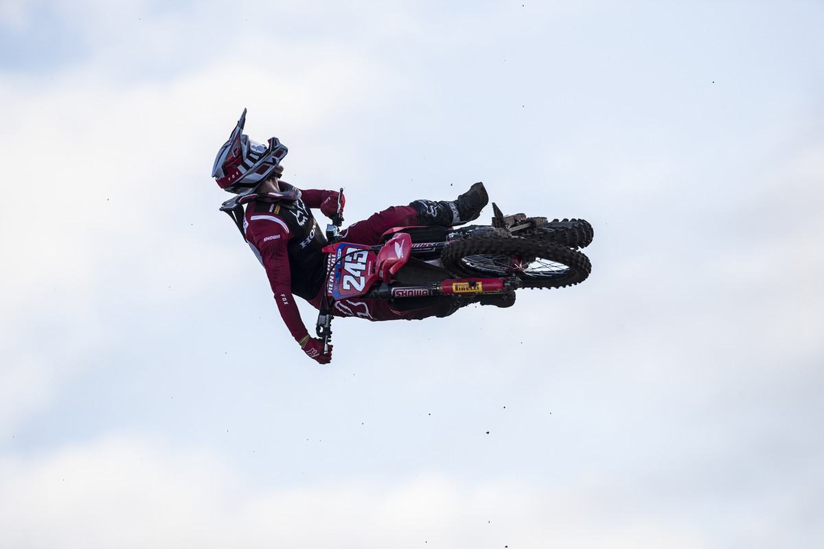 MXGP of Great Britain: Gajser was stoked to get his first moto win of the year.