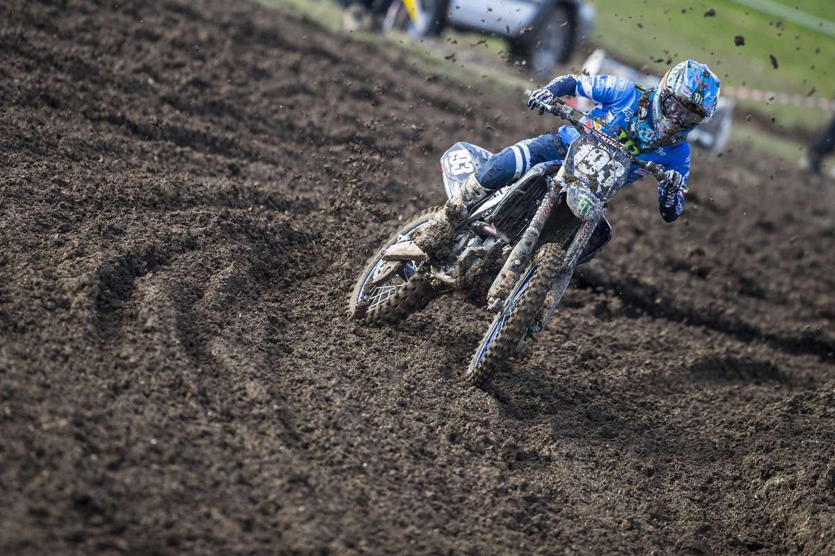MXGP of Great Britain: Jago Geerts started off the season with the overall in the MX2 class.