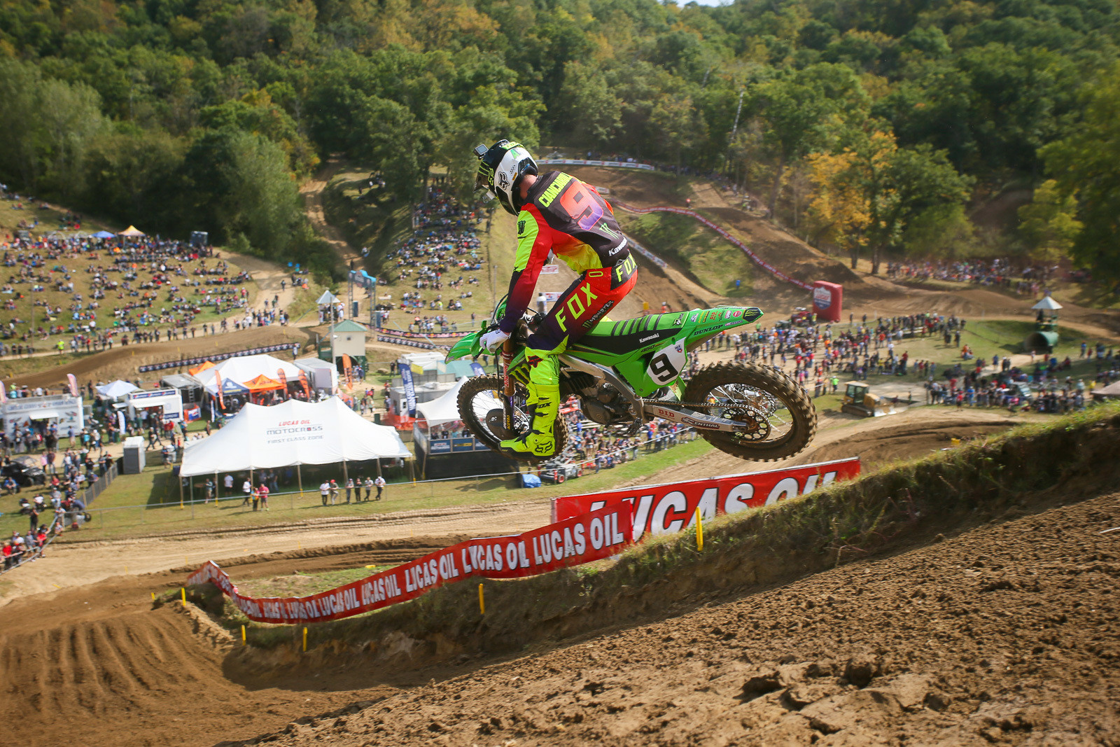 """Spectator capacity varied at different rounds of the Lucas Oil Pro Motocross Championship, with Spring Creek, Thunder Valley, and Fox Raceway feeling the most """"normal."""""""