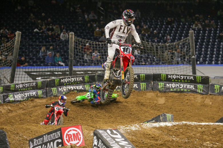 Justin Brayton put in a solid performance, as always.
