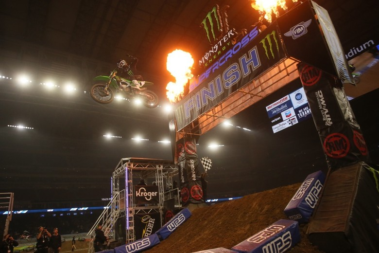 Eli Tomac bounced back from a rough season opener to take the win!