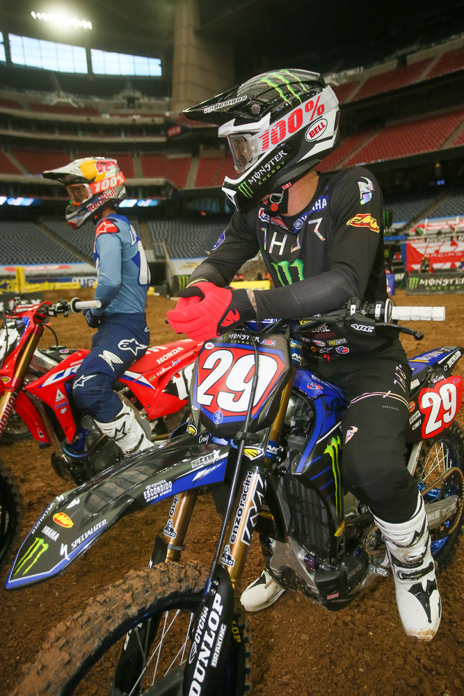Christian Craig took over the red plate after winning the first round of the East series last Saturday.