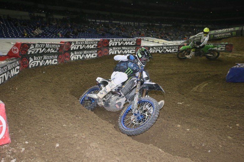 Nice ride by Aaron Plessinger tonight.