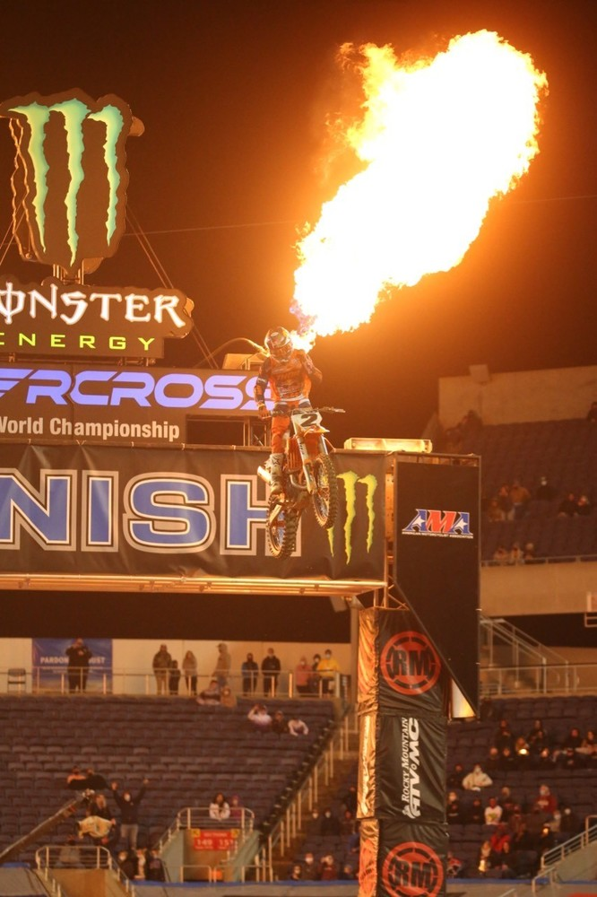 Cooper Webb took home the win.