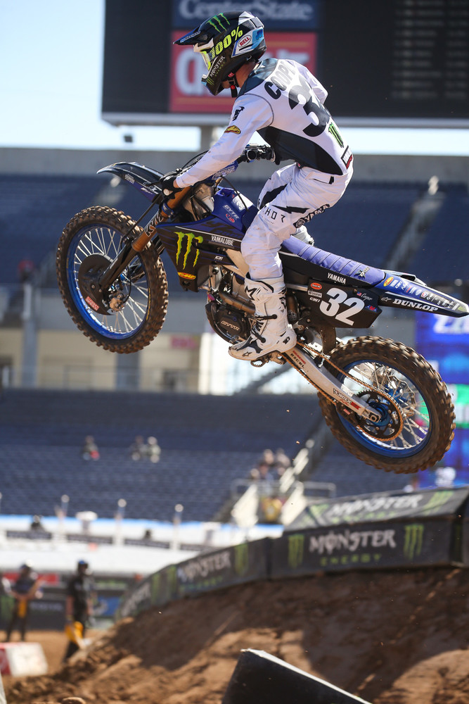 Fastest 250 qualifier? Yep. Justin Cooper.