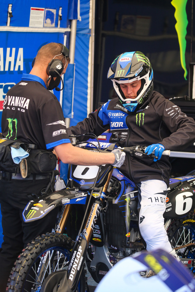 With the 250 West firing up, it was good to see Jeremy Martin back in action. Less fun was seeing him get landed on during the main event, which resulted in a dislocated shoulder. Here's hoping that he heals up quickly.