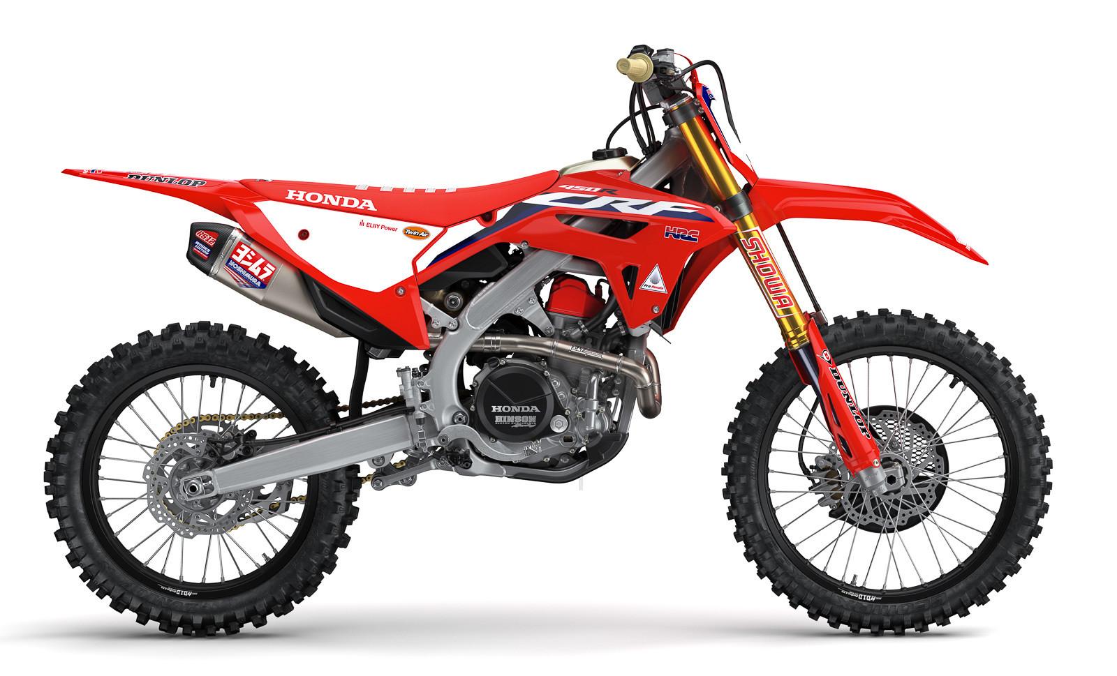 2022 Honda CRF450RWE Works Edition
