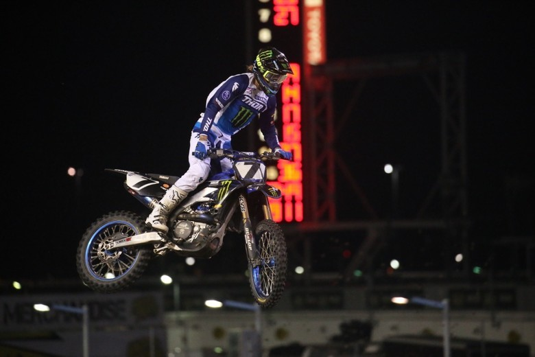 It was a great night for Aaron Plessinger!